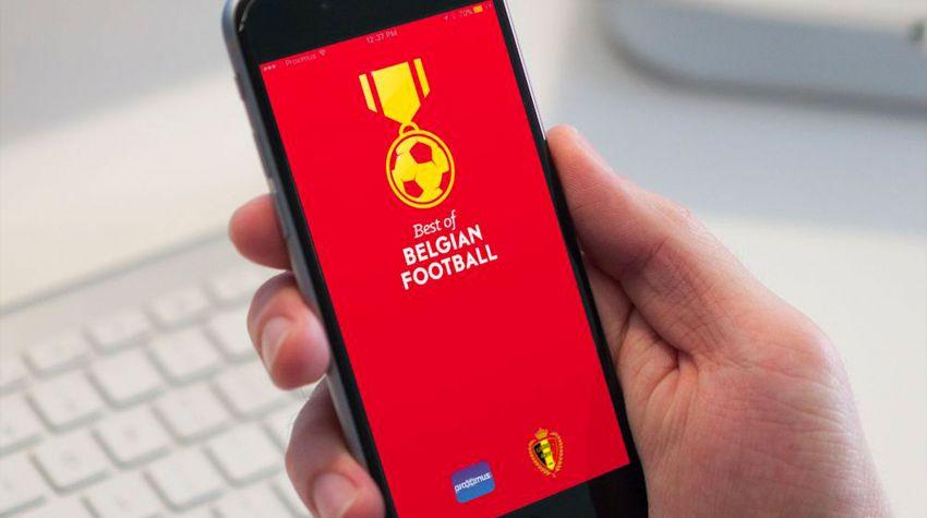 Beste van de Belgische voetbal-app